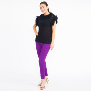 "DesignerShare ""The Purple Pant"" by Stella McCartney - Front"