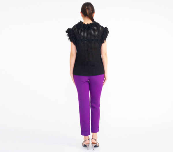"DesignerShare ""The Purple Pant"" by Stella McCartney - Back"