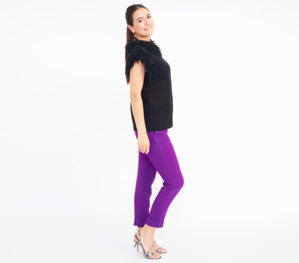 "DesignerShare ""The Purple Pant"" by Stella McCartney - Side"