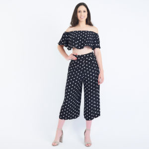 House of Harlow 1960 x Revolve Two-Piece Polka Dot Set