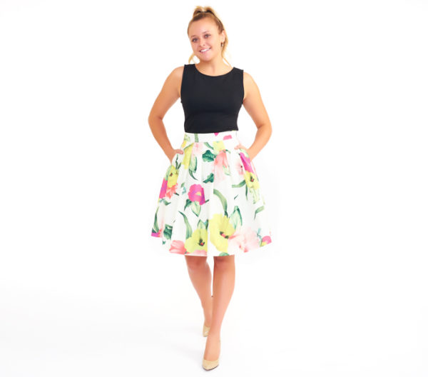 "Ted Baker ""Muirin"" Full Skirt"