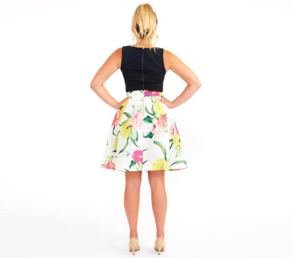"Ted Baker ""Muirin"" Full Skirt Back"
