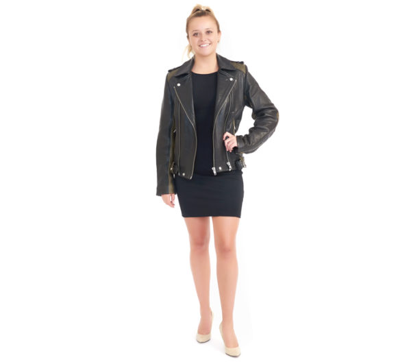 IRO Leather Jacket Front