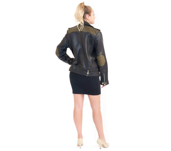 IRO Leather Jacket Back