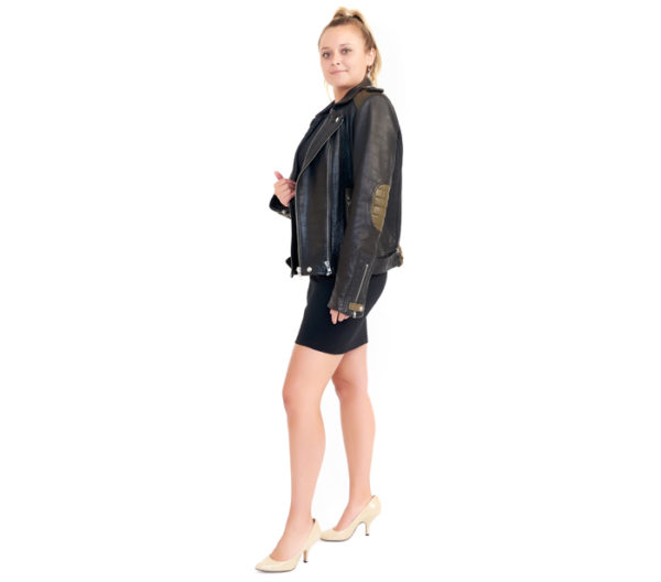 IRO Leather Jacket Side