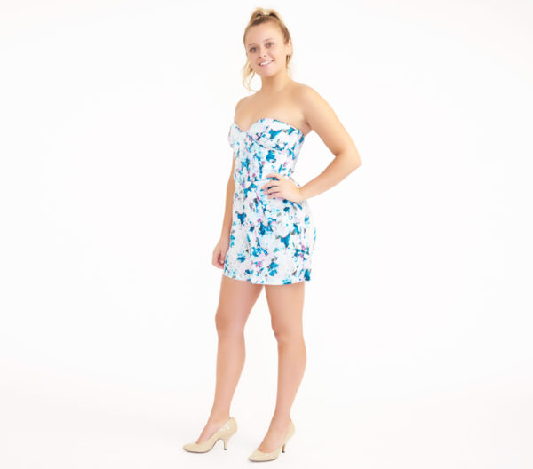 Parker Sutton Floral Romper Side