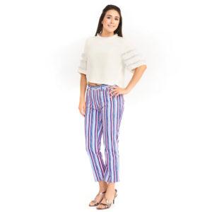 Dolce & Gabbana Business Casual Striped Jean