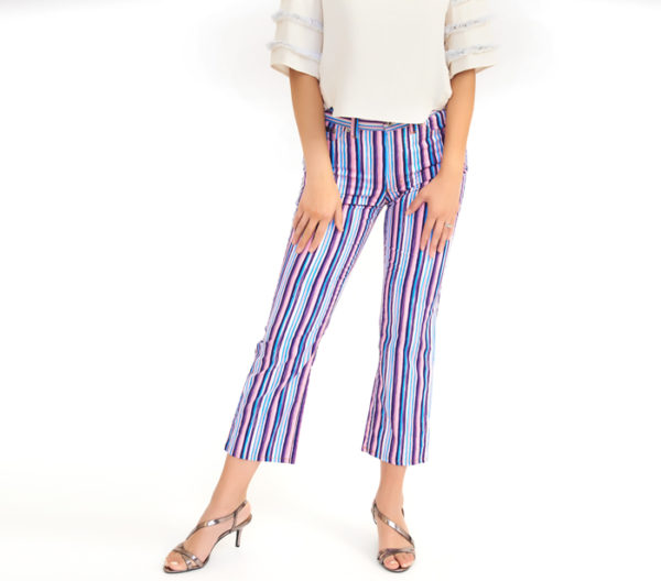 Dolce & Gabbana Business Casual Striped Jean Front