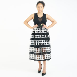 Alexis Modern Two-Layer Skirt