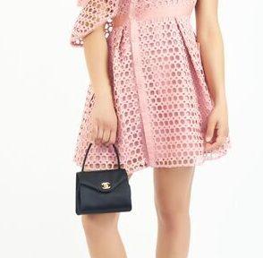 DesignerShare Chanel Vintage Top Handle Flap Bag Satin - Model
