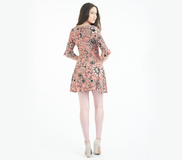 "For Love & Lemons ""Ayla"" Pink floral dress"