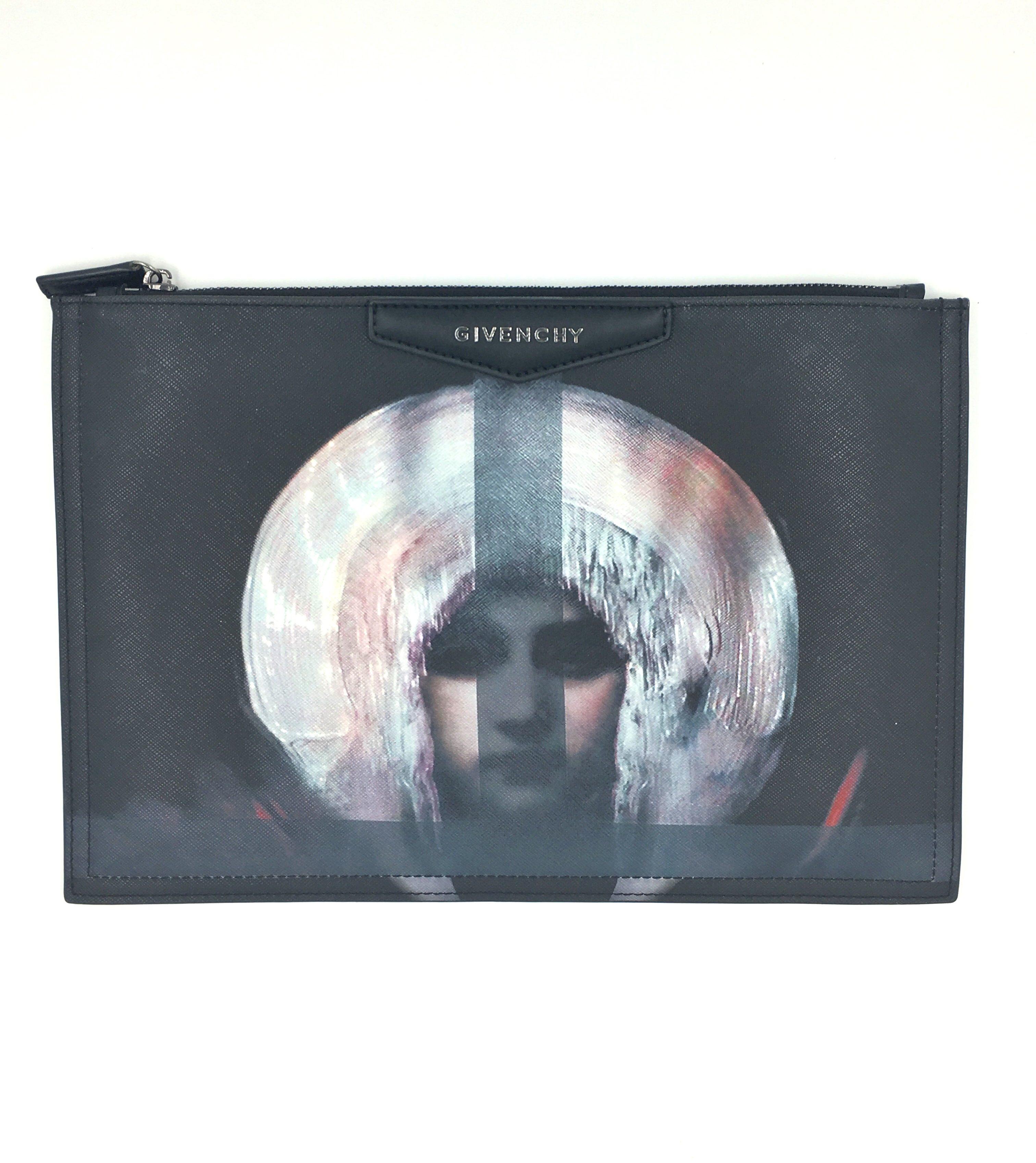a1b159e25a Givenchy Madonna Antigona Zipped Clutch Bag – DesignerShare
