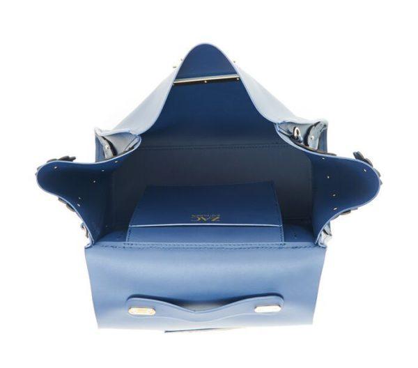 DesignerShare Zac Zac Posen Eartha Iconic Top Handle Bag - Inside