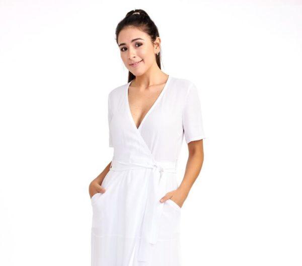 DsignerShare A.L.C. Asa Midi Wrap Dress - Detail