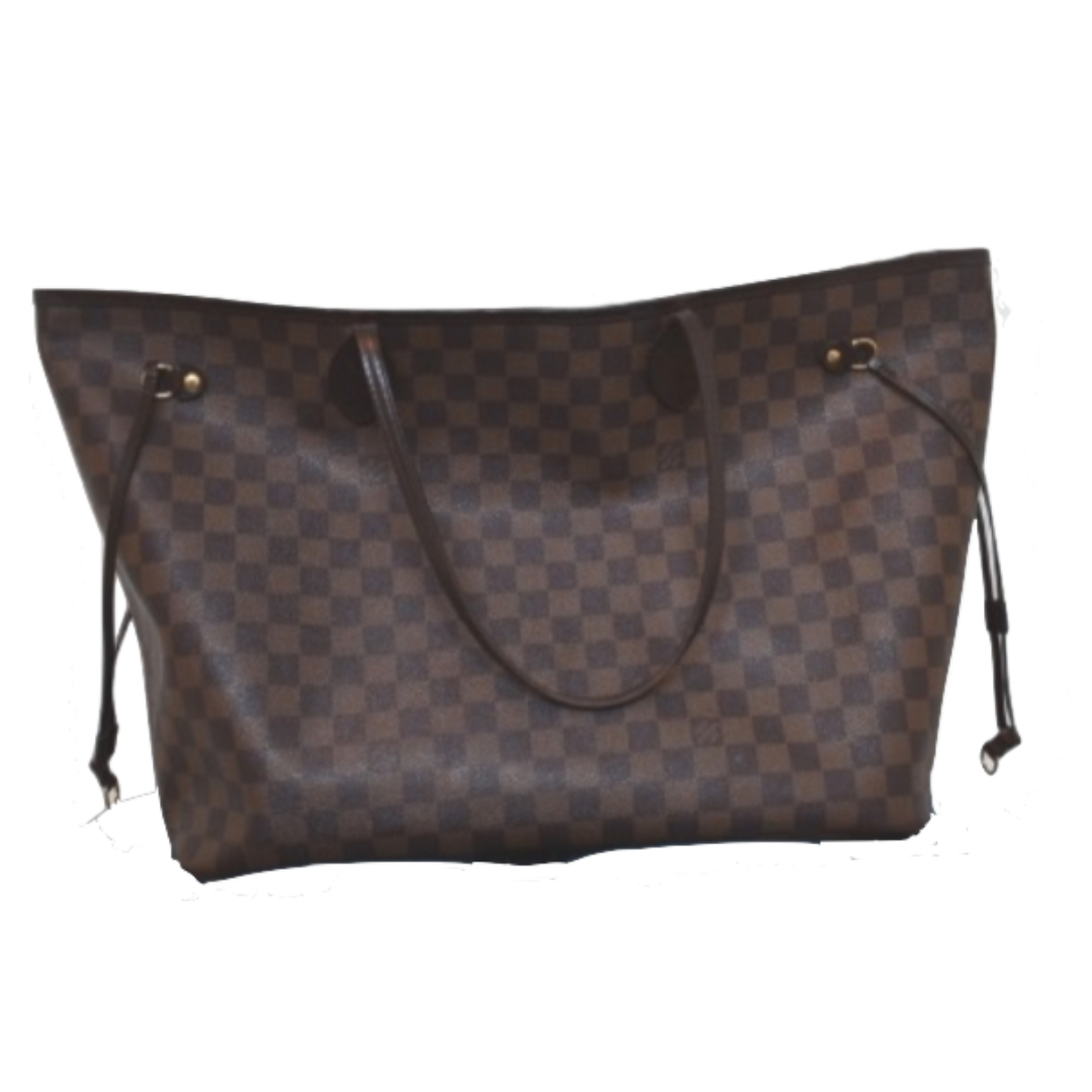 a97d139ecac0 Louis Vuitton Damier Ebene Neverfull MM Tote – DesignerShare