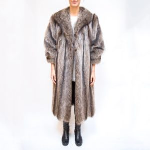 Alper Richman Full Length Fur Coat