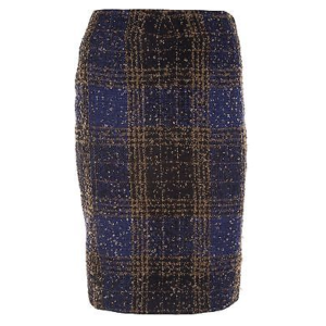 Vintage Carolina Herrera Plaid Skirt