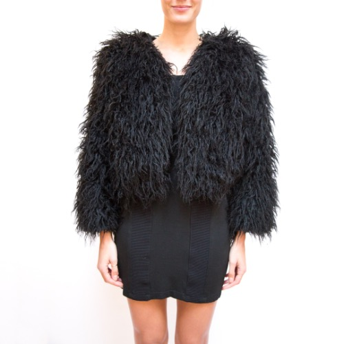 Reformation Brinsley Faux Fur Jacket 2