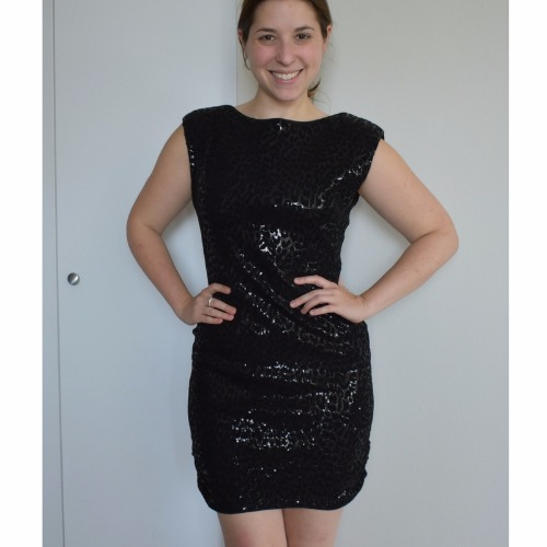 Alice Olivia Black Frankie Sequin Dress Designershare