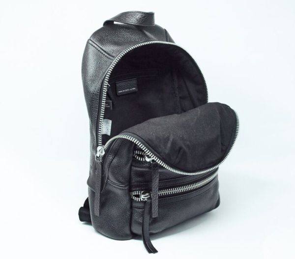 DesignerShare MARC by Marc Jacobs Domo Biker Leather Backpack - Inside