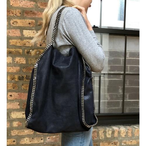 7947f3cf29 DesignerShare Stella McCartney Falabella Large Tote Bag - Model