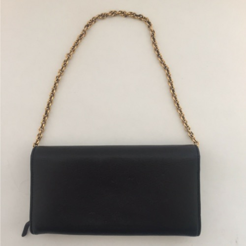 DesignerShare Gucci Leather Wallet on Chain - Back