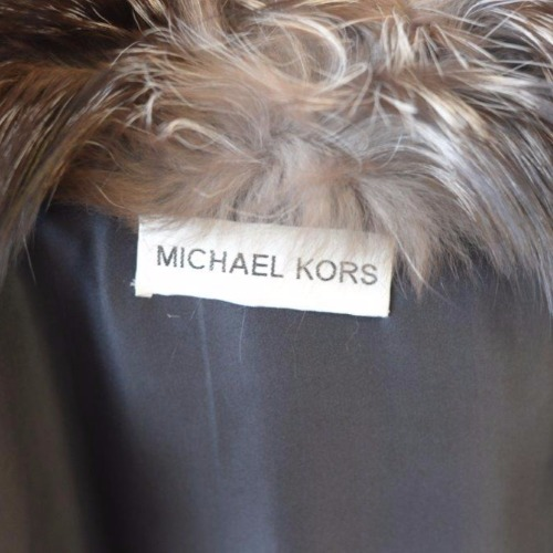 Michael Kors Fox Fur Vest Tag