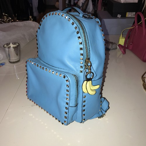 98c23e59d58 Valentino Medium Rockstud Backpack – DesignerShare