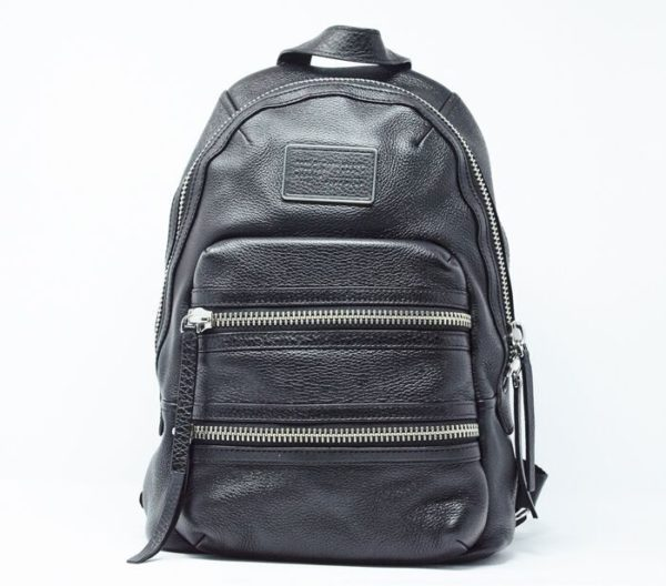 DesignerShare MARC by Marc Jacobs Domo Biker Leather Backpack - Front