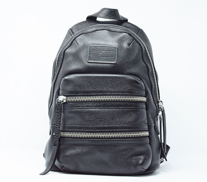 ebe906d0fa2 DesignerShare MARC by Marc Jacobs Domo Biker Leather Backpack - Front