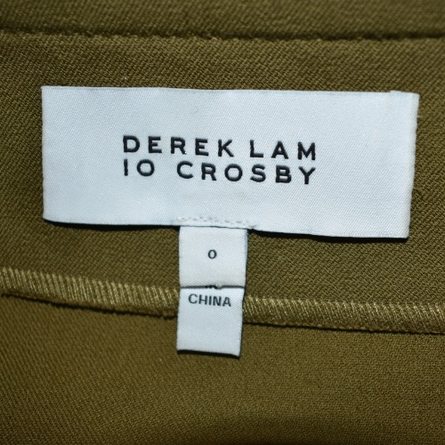 Derek Lam 10 Crosby Asymmetrical Ruffle Mini Skirt Tag