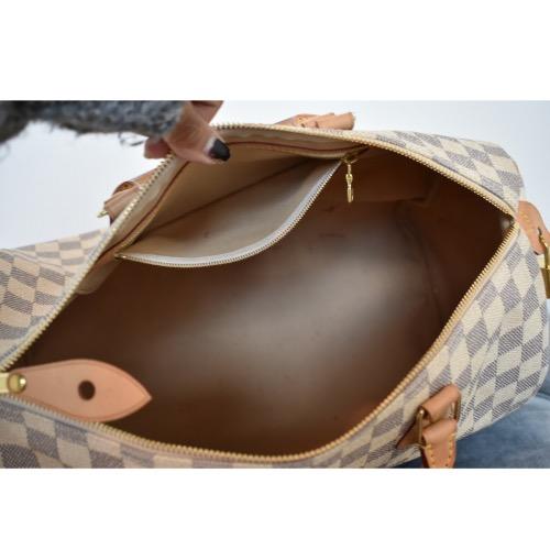 DesignerShare Louis Vuitton Damier Azur Speedy Bandouliere 30 Tote - Inside