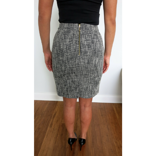 Kate Spade Judy Pencil Skirt Back