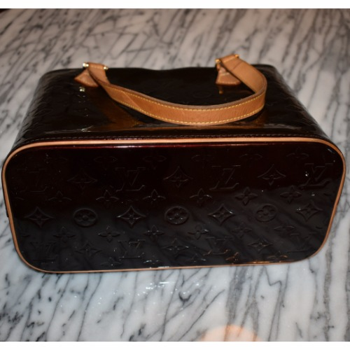 DesignerShare Louis Vuitton Monogram Vernis Houston Tote - Bottom