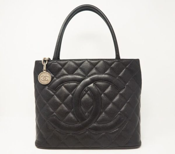 DesignerShare Chanel Caviar Quilted Medallion Tote Bag - Front