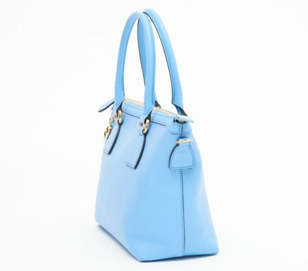DesignerShare Gucci Charmy Zip Top Tote - Side