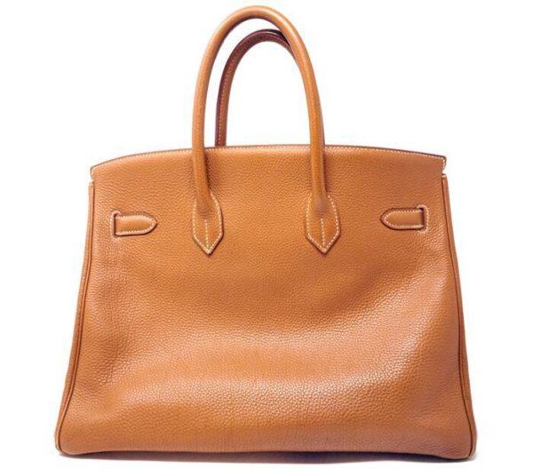 DesignerShare Hermès Natural Barenia Faubourg Birkin 35 Fauve - Back