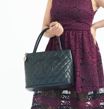 DesignerShare Chanel Caviar Quilted Medallion Tote Bag - Model
