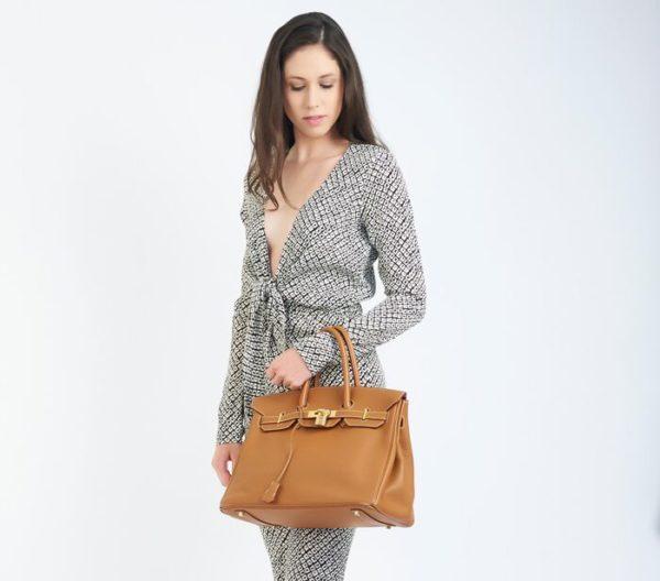 DesignerShare Hermès Natural Barenia Faubourg Birkin 35 Fauve - Model 2