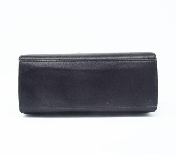 DesignerShare Chanel Vintage Top Handle Flap Bag Satin - Bottom