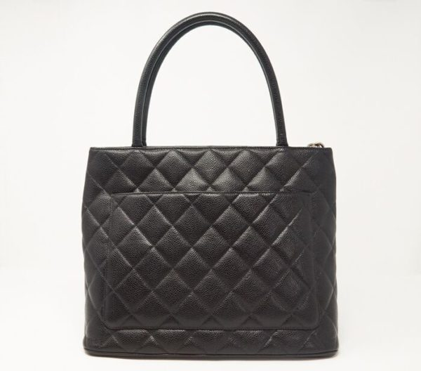 DesignerShare Chanel Caviar Quilted Medallion Tote Bag - Back