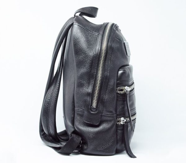 DesignerShare MARC by Marc Jacobs Domo Biker Leather Backpack - Side