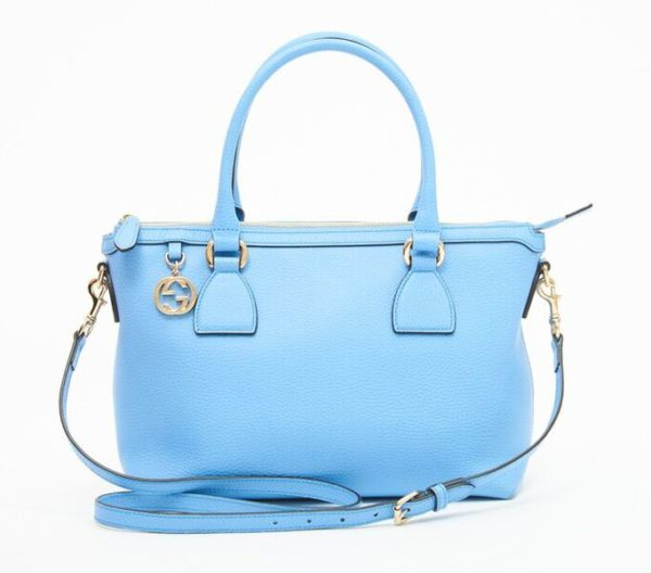 DesignerShare Gucci Charmy Zip Top Tote - Front