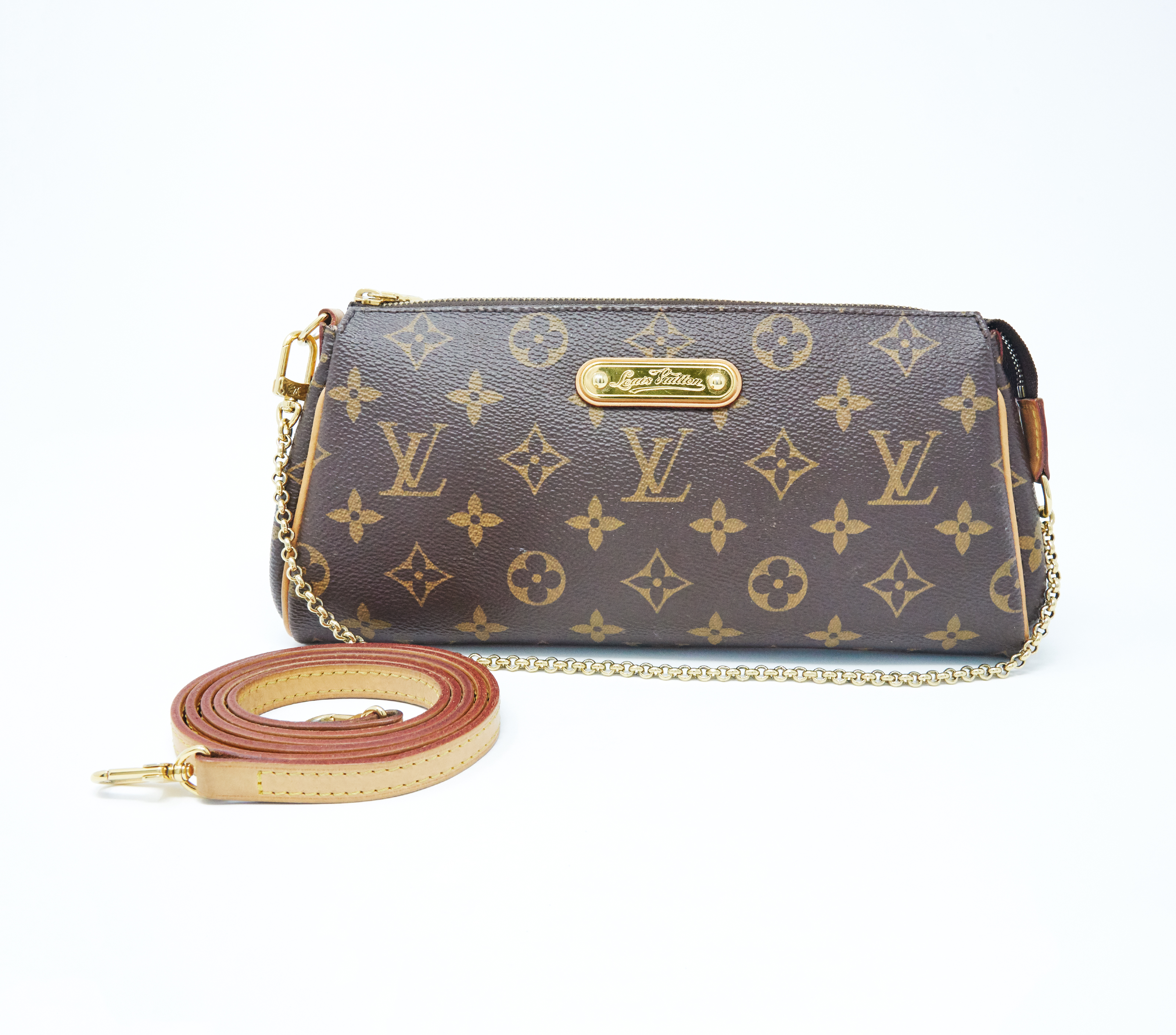 be8094826156 Louis Vuitton Eva Clutch Crossbody – DesignerShare