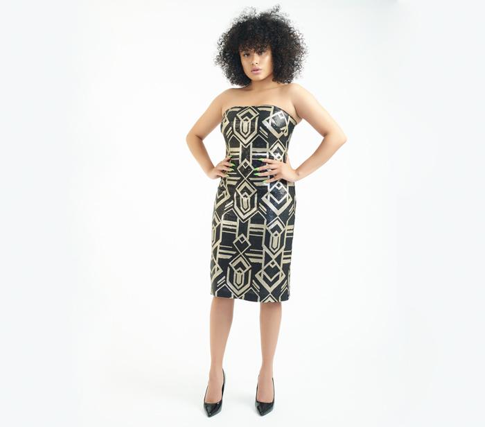 Lauren Ralph Lauren Sequin Art Deco Dress – DesignerShare