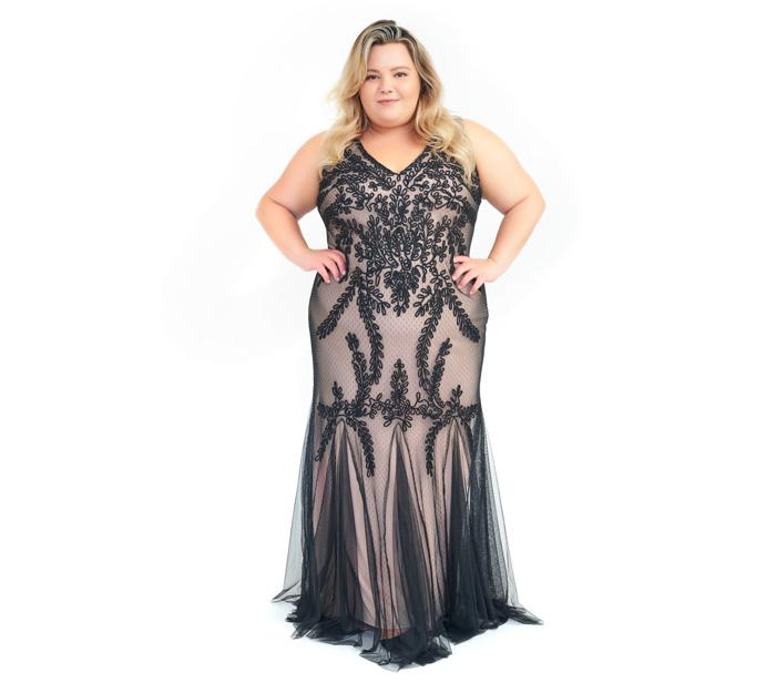 Betsy & Adam Soutache Mermaid Gown – DesignerShare