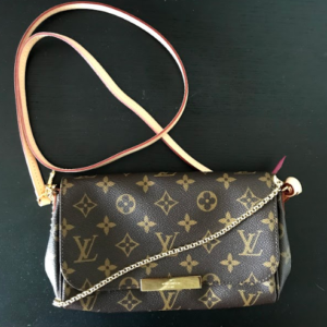 e4352e024401 Louis Vuitton Monogram Favorite PM Crossbody Bag