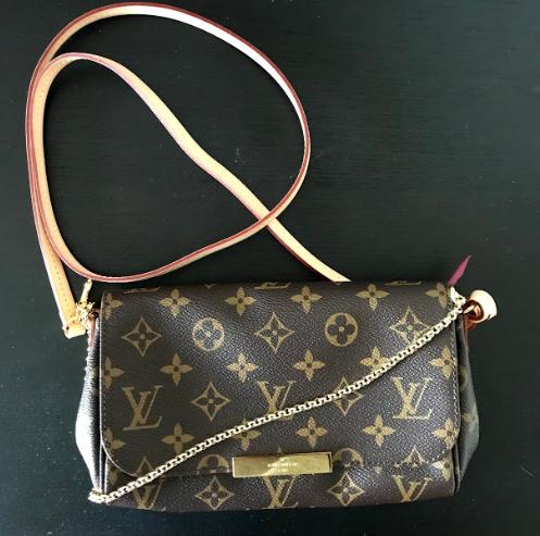 b743a59bcf1e Louis Vuitton Monogram Favorite PM Crossbody Bag – DesignerShare