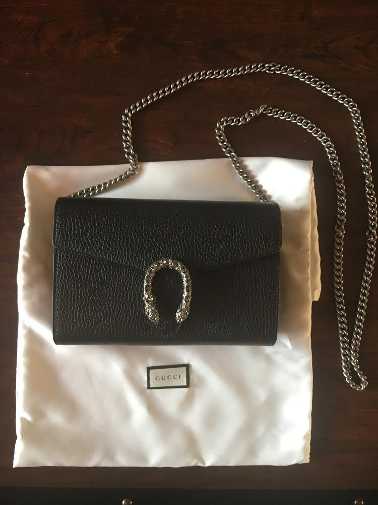 e6ff9d0aac81 Gucci Dionysus Leather Mini Chain Bag – DesignerShare