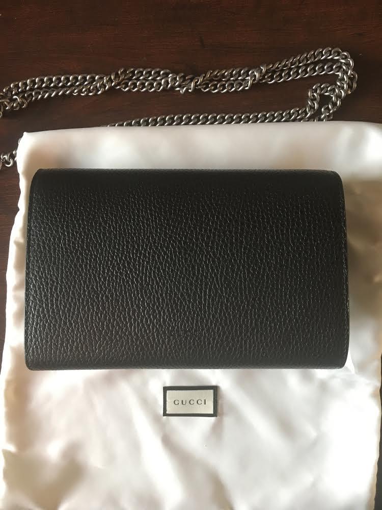 33f4dac9b0c61 Gucci Dionysus Leather Mini Chain Bag – DesignerShare